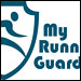 Branding for MyRunningGuard, coming holiday season 2011 to a running specialty retailer near you!