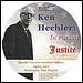 Ken Hechler: In Pursuit of Justice documentary dvd label.